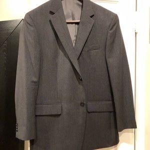 Gray Michael Kors Pinstrip Suit